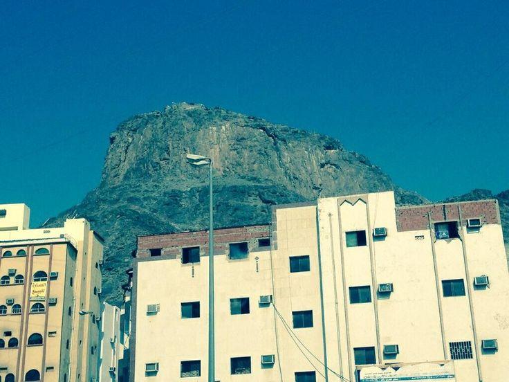 Jabal e Noor [Cave of Hira], Makkah via @MuftiAbdullah