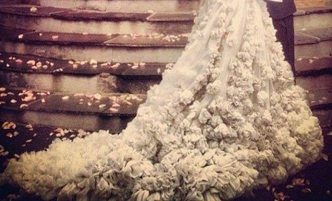 El vestido de novia de Olivia Palermo Bodas y Novias - El Rincón de Moda