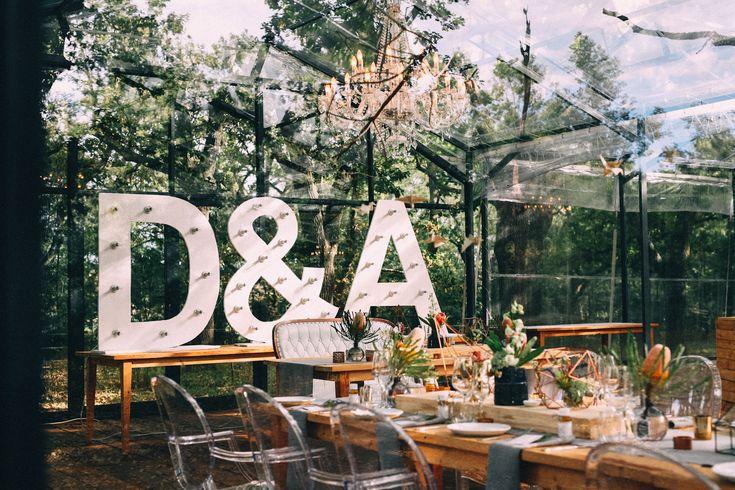 Decor & wedding coordination of Dave & Amanda's wedding at Die Woud by creativenook.co.za