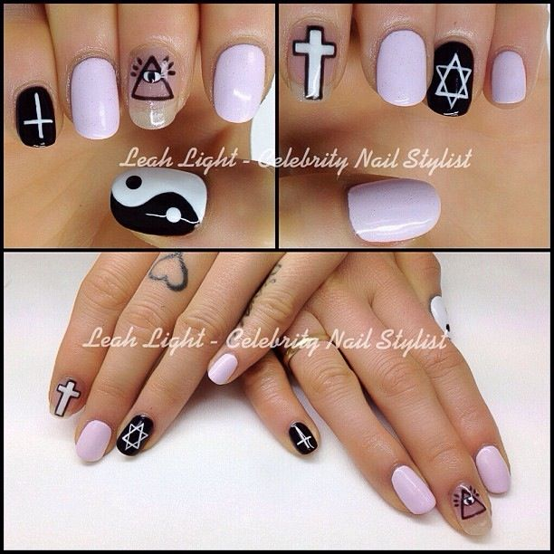 My nail art done at Leah light nails and beauty