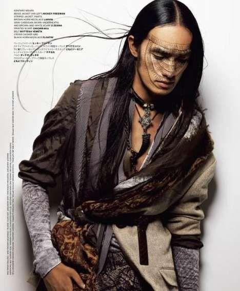 Men's Modern Warrior Fashion and Makeup Inspiration ...