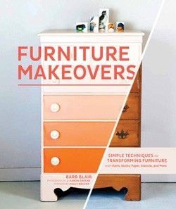 Furniture Makeovers // #givebooks @Chronicle Books