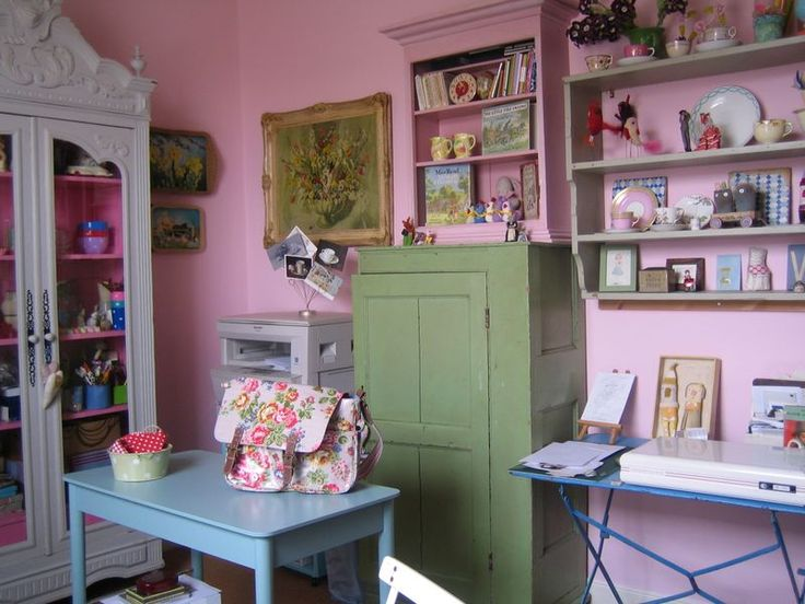 So much good stuff here craft and sewing rooms for Cath kidston kitchen ideas