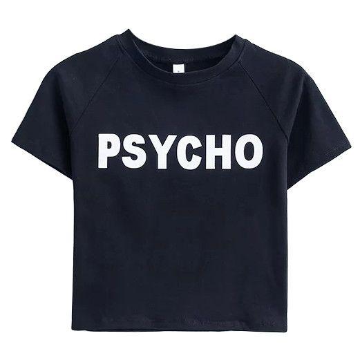 Psycho Crop Tee boogzel apparel