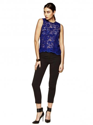 Rodeo Show Orchid Lace Top!  A must in all wardrobes!