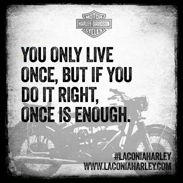 Tattoo Quotes You Only Live Once But If Done Right: Quote Of The Day: You Only Live Once, But If You Do It