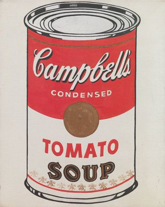 Andy Warhol: Cambell's Soup Can's and Other Works, 1953-1967