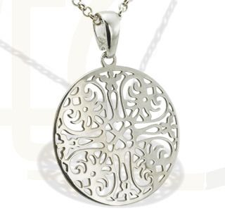 Srebrny wisiorek/ Pendant made from silver/ 74 PLN #jewellery #silver #pendant #gift