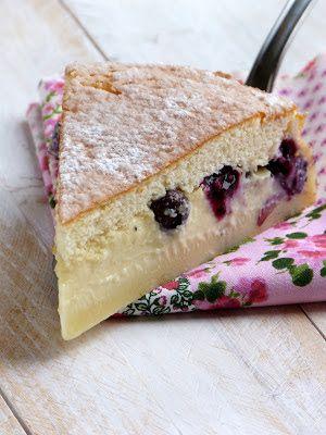Chic, chic, chocolat...: Le gâteau encore plus magique aux myrtilles et au citron