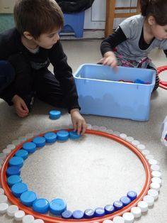 les ronds petite section - Oh la bonne idée pour une activité esprit mandala !