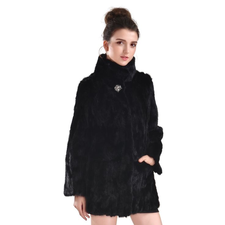 Special Fashion Fur Coat Women Mink Coats Real Mink Fur Natural Black Girl's Genuine Mink Coat Price Hot On Sale Women