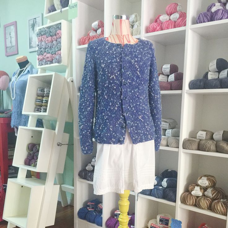 Pompom sweater by Intan Prameswari