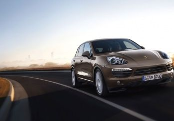 The new Porsche Cayenne S Diesel