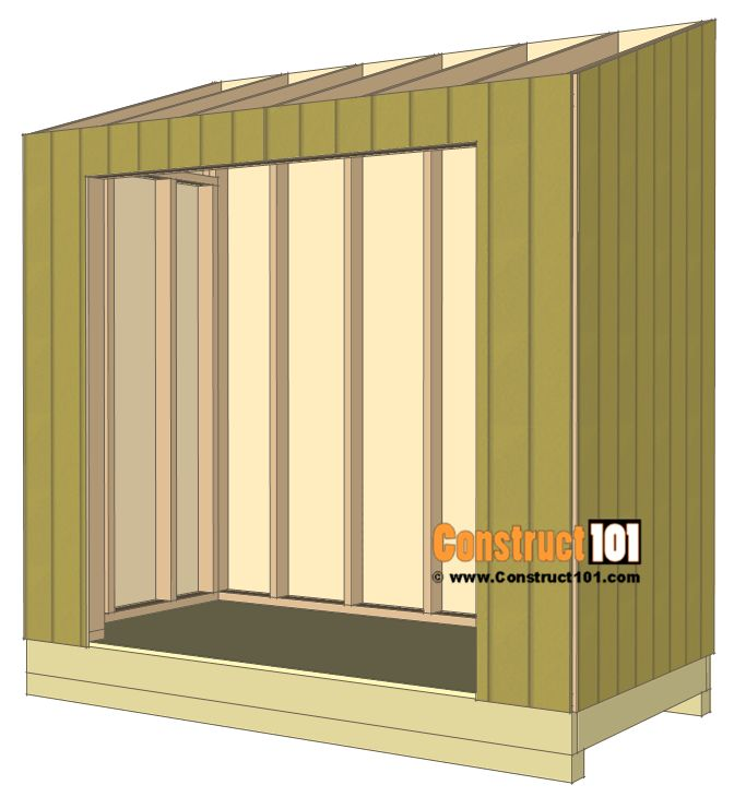 Lean To Shed Plans   4x8   Step By Step Plans. 25  unique Lean to shed plans ideas on Pinterest   Lean to shed