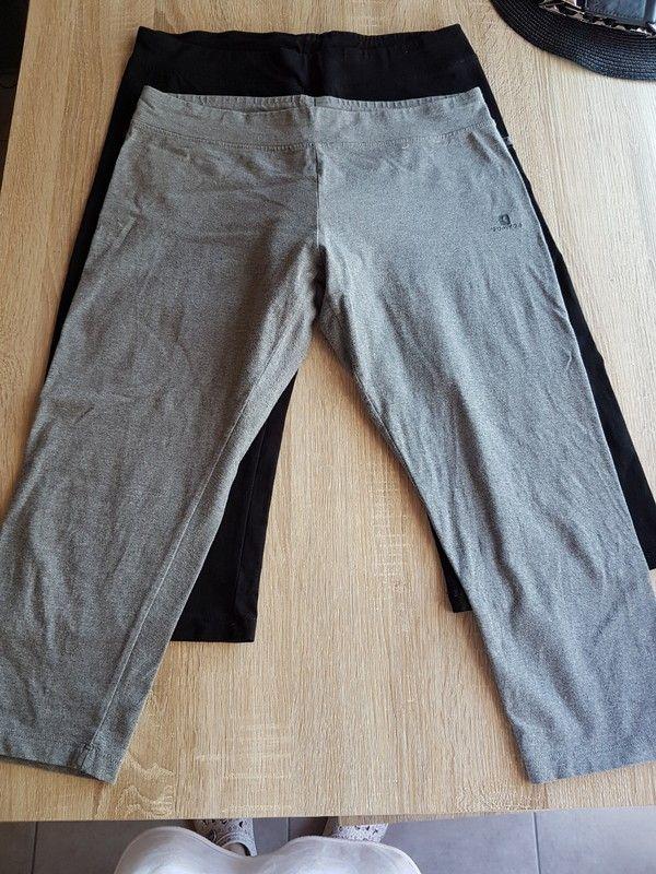 lot 2 caleçons domyos gris   noir taille 40/42