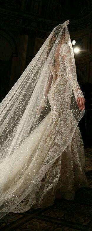 Simply elegant #Bridalveil #lebaneseweddings #veil