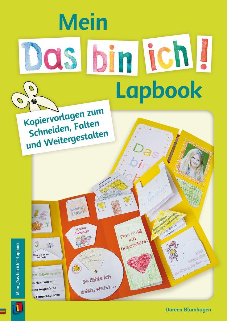 """Mein """"Das bin ich!""""-Lapbook - Kopiervorlagen zum Schneiden, Falten und…"""
