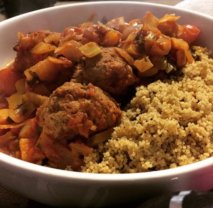 Moroccan Baked Meatballs #SlimmingWorld