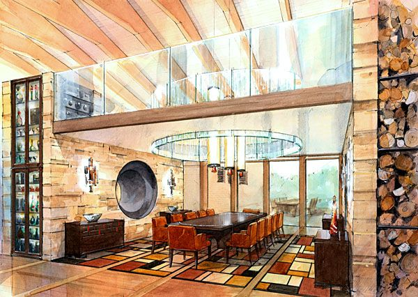 Residential Interior/By John Wilsom