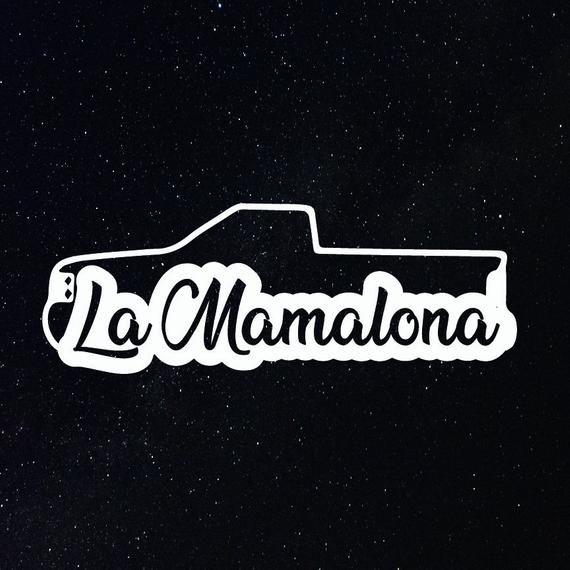 La Mamalona Decal Para La Troca Puro Trokiando Etsy In 2021 Marvel Superhero Posters Custom Decals Single Cab Trucks