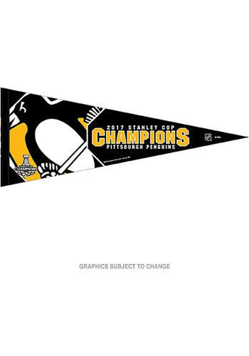 Pittsburgh Penguins 2017 Stanley Cup Champions Pennant - 5714304