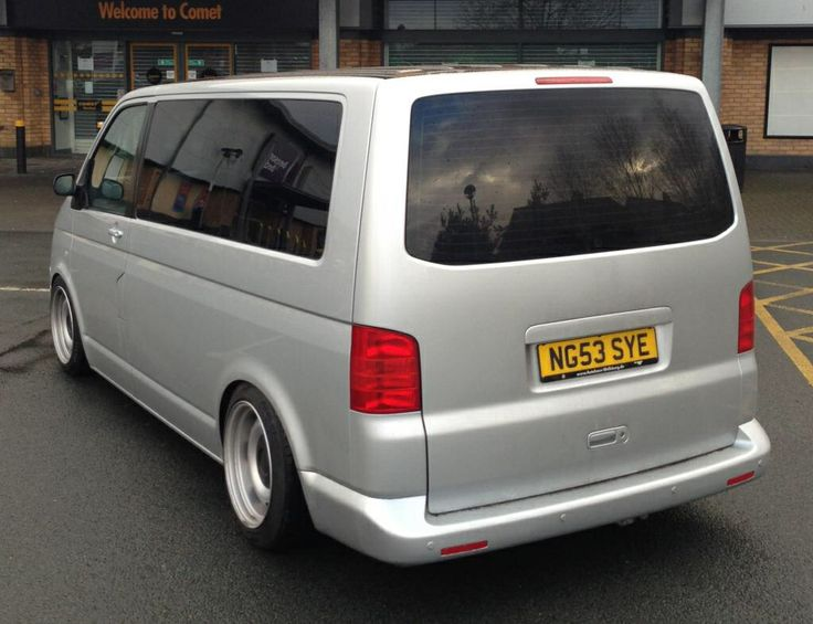 T5 lowered on banded steels.....an awesome look but obviously not load rated rims....
