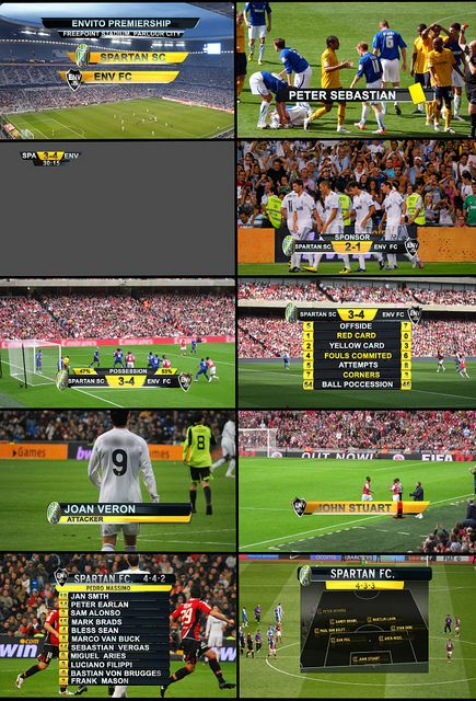 """$30.00  Live Sports Graphics is the second installation to """"On Air Graphics."""" If you liked the previous edition, you should love this one. It gives you all the Graphics you will need to title a live sporting event and even more. Although soccer was the main idea, it could be used for other sports as well. It is a complete sports visual toolset!"""