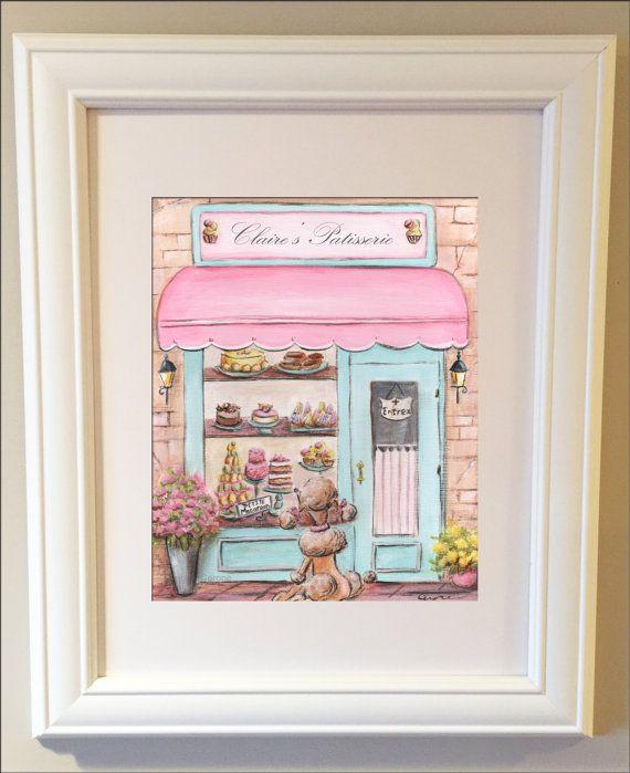 Paris Decor Pink Paris Bedroom Decor Custom by NurseryRembrandts