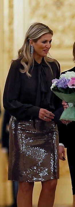 Willem Alexander en Máxima in Rusland