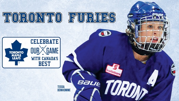 Leafs Announce Partnership Agreement with Toronto Furies - Toronto Maple Leafs - Press Releases