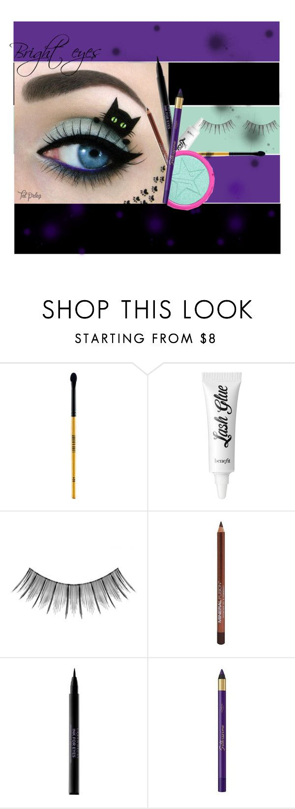 Bright eyes by screaming-soul on Polyvore featuring beauty, L'Oréal Paris, Urban Decay, Benefit, Mineral Fusion, Lord & Berry, Japonesque and brighteyes