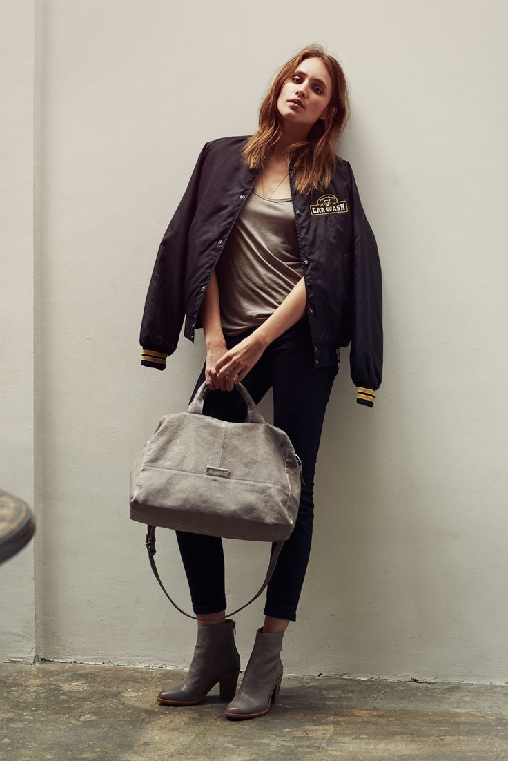 Shop the #weekendbag from the Shabbies Amsterdam campaign.