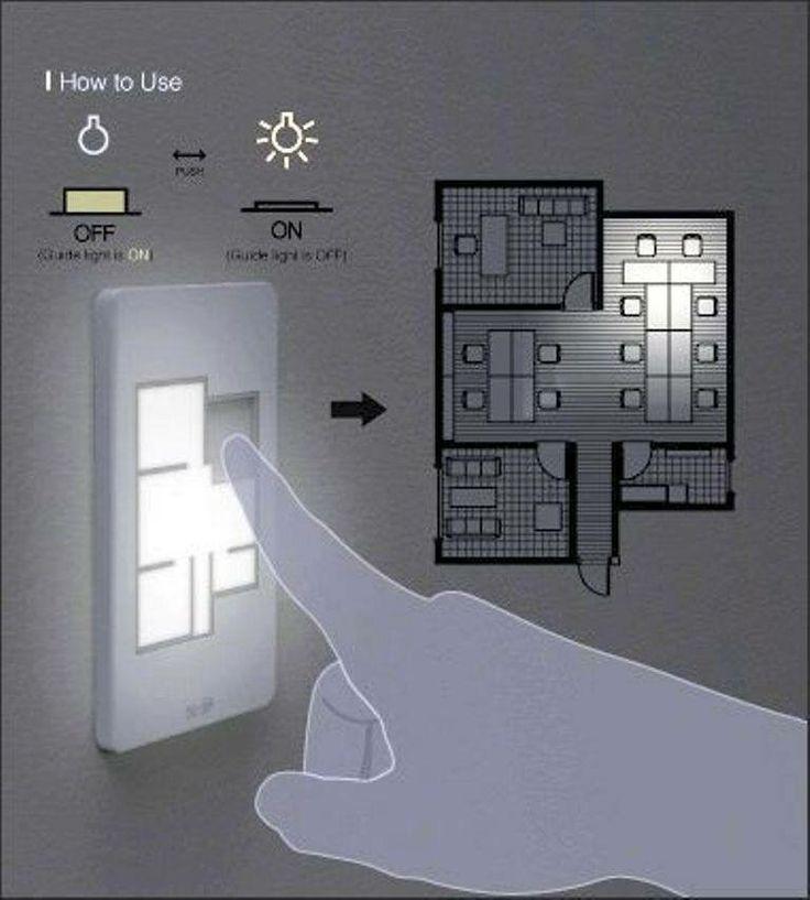 Floor Plan Light Switches