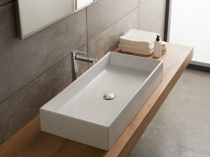 les 25 meilleures idées de la catégorie vasque à poser sur ... - Vasque Rectangulaire Salle De Bain