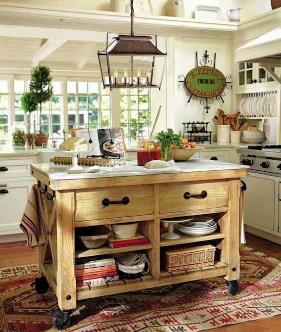 25 Best Kitchen Islands On Wheels Ideas Images On
