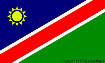 Namibia Flags geographic.org