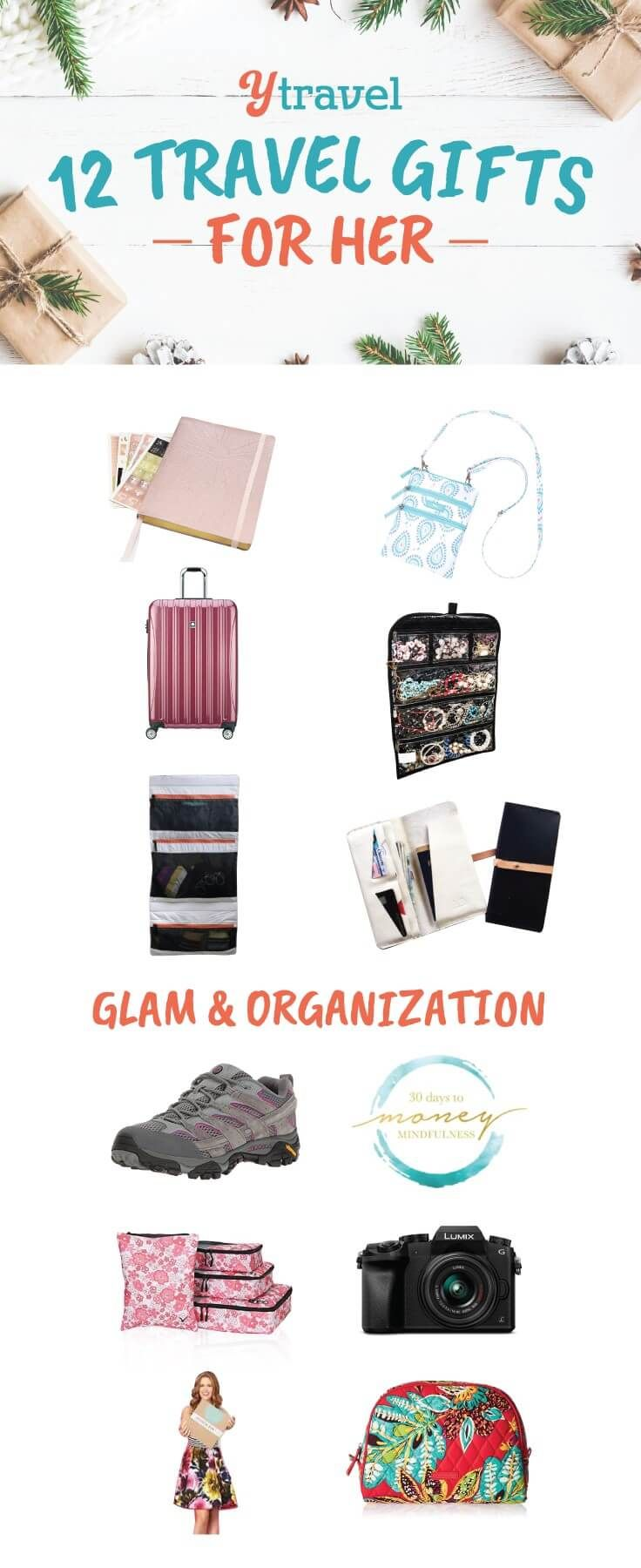 14 Exciting Travel Gifts For Her 2020 For Glam And Organization Best Travel Gifts Travel Gifts Exciting Travel