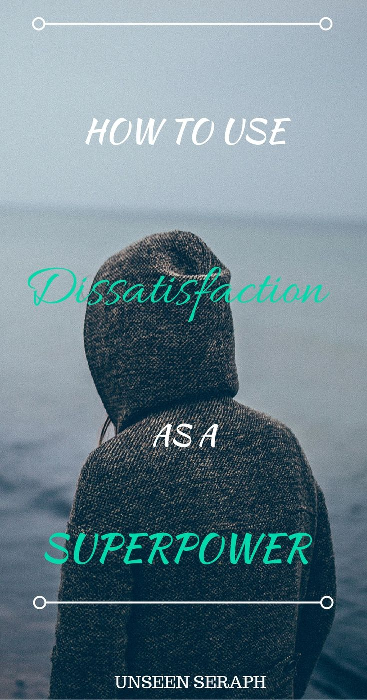 Dissatisfaction isn't a problem to overcome; it is a true superpower! Discover the one simple tool that even a five-year-old can use that will instantly give your manifestation powers a huge boost. This tool improved both my mood and my results more than anything else! Unseen Seraph | Magick | Witchcraft | Block Removal | Transformation