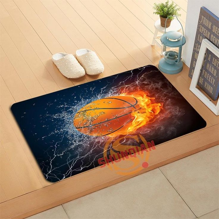 Now Available on our store:Custom Basketball...  check it out here http://www.magnetabrand.com/products/custom-basketball-doormat-with-amazing-ball-graphics-for-a-true-fan?utm_campaign=social_autopilot&utm_source=pin&utm_medium=pin