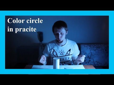 How to use the theory of color circle and complementary colors (subtitles). More info on www.daniil-belov.com