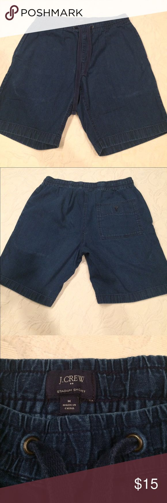 "Men's shorts JCrew men's shorts medium 8.5"" length J. Crew Shorts Jean Shorts"