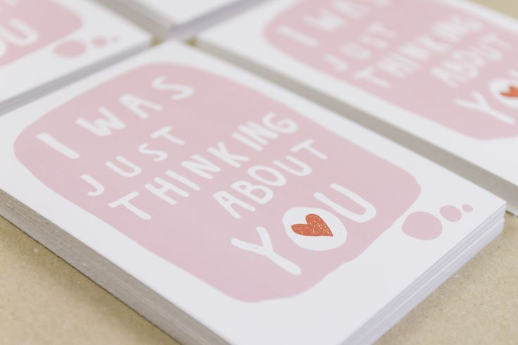 Muumuru postcard: I Was Just Thinking About You