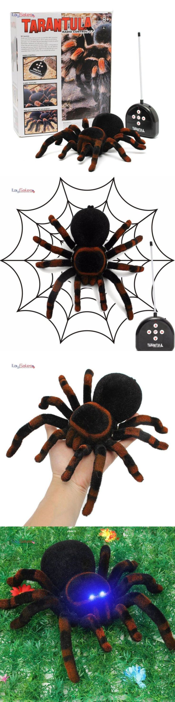 Gag Gifts 19257: Fake Spider Scary Toy Remote To Prank Toy Joke Trick Real Locking No Batteries -> BUY IT NOW ONLY: $40.1 on eBay!