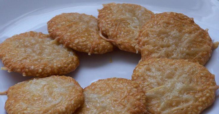 Paleo szezámos sós keksz (gluténmentes)