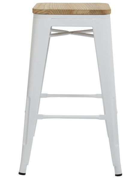 Simple yet stylish, the Ari Barstool is a great addition to any kitchen area. Available in Black or White.