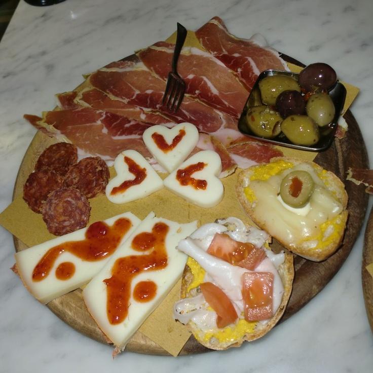 Sempre San Valentino!   Still Valentine plate!
