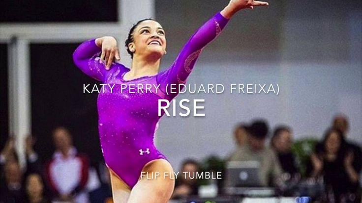 Rise Katy Perry Gymnastics Floor Music - YouTube