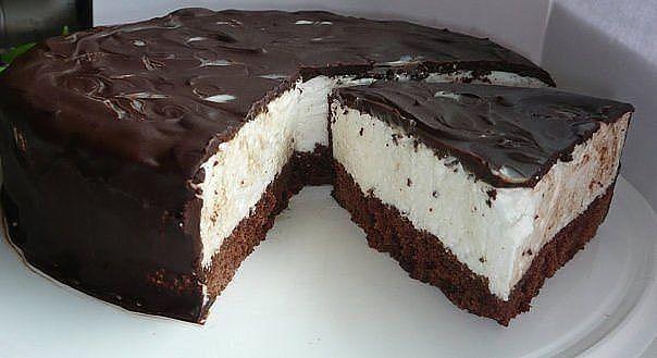 Веб Повар!: Быстрый торт- Птичье молоко