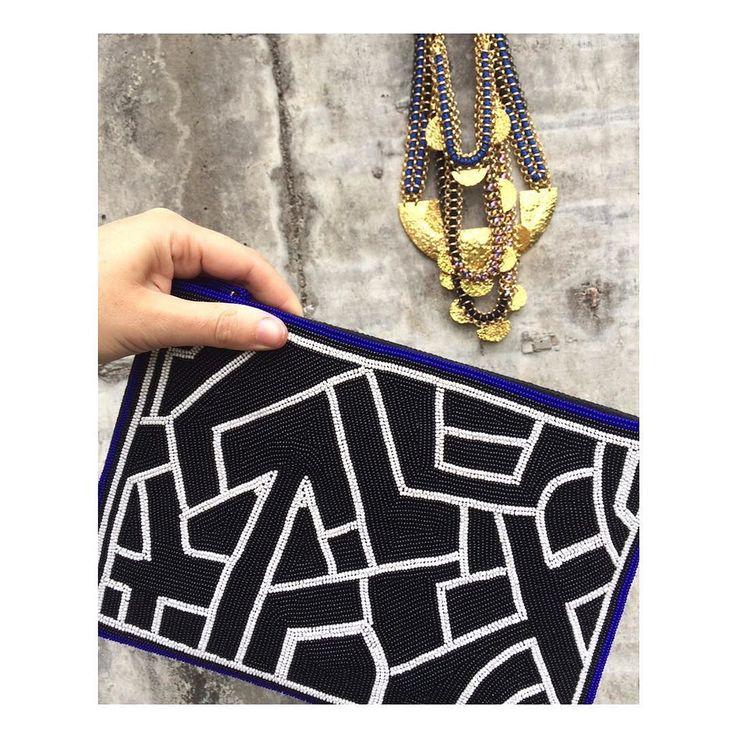 @sollisjewellery new beaded clutch!   #sollisjewellery #emerging #designer #bloggerstyle #fblogger #blogger #instafashion #accessories #instapic #fashionbrand #fashiondiary #fashioninspo #torontoblogger #jewelry