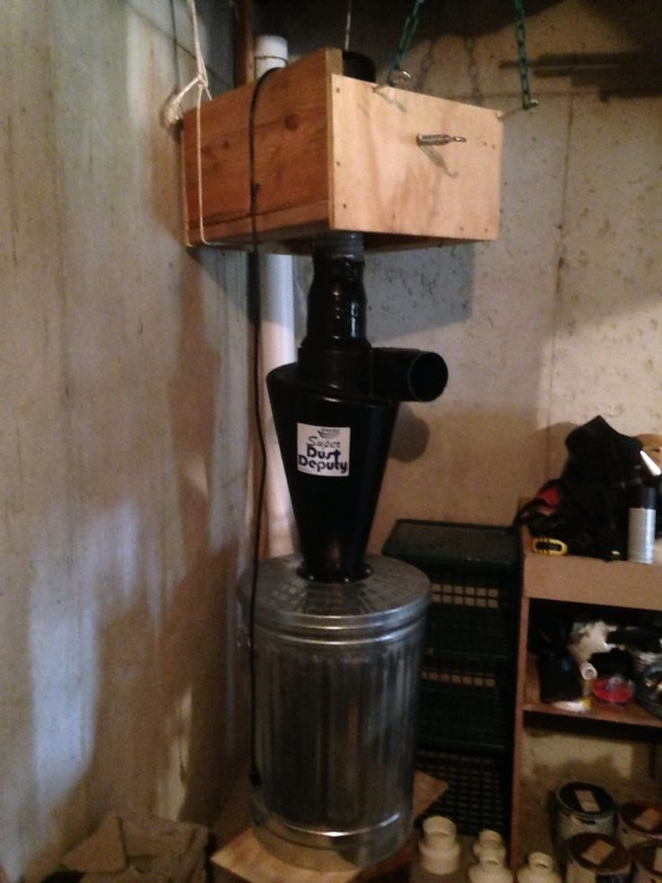 My Super Dust Deputy Install Dust Collection Pinterest